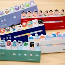 Novelty Japanese Style Mini Memo Pad N Times Sticky Notes Escolar Papelaria School Supply Bookmark Label