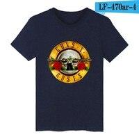 GUNS N ROSES Black Punk Summer Cotton T Shirt Men Women T Shirt And Rock Band