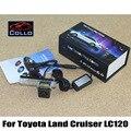 Safety Laser Fog Lights / For Toyota Land Cruiser 120 Prado 2002~2009 / Car Anti-Rear Fog Lamp / Vehicle Collision Warning Light