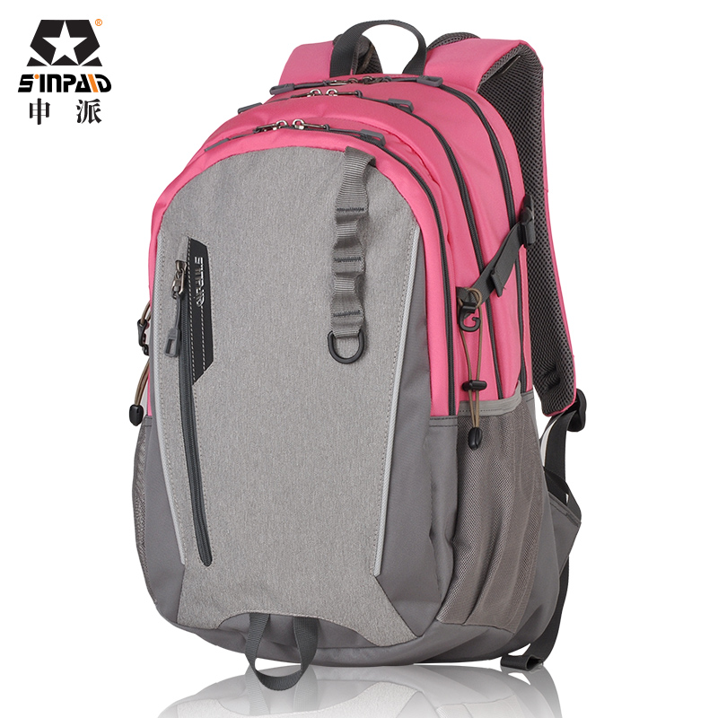 SINPAID Women & Men Waterproof Travel Backpack for 14 / 15.6 Inches Laptop Storing Bag High Quality Oxford Material