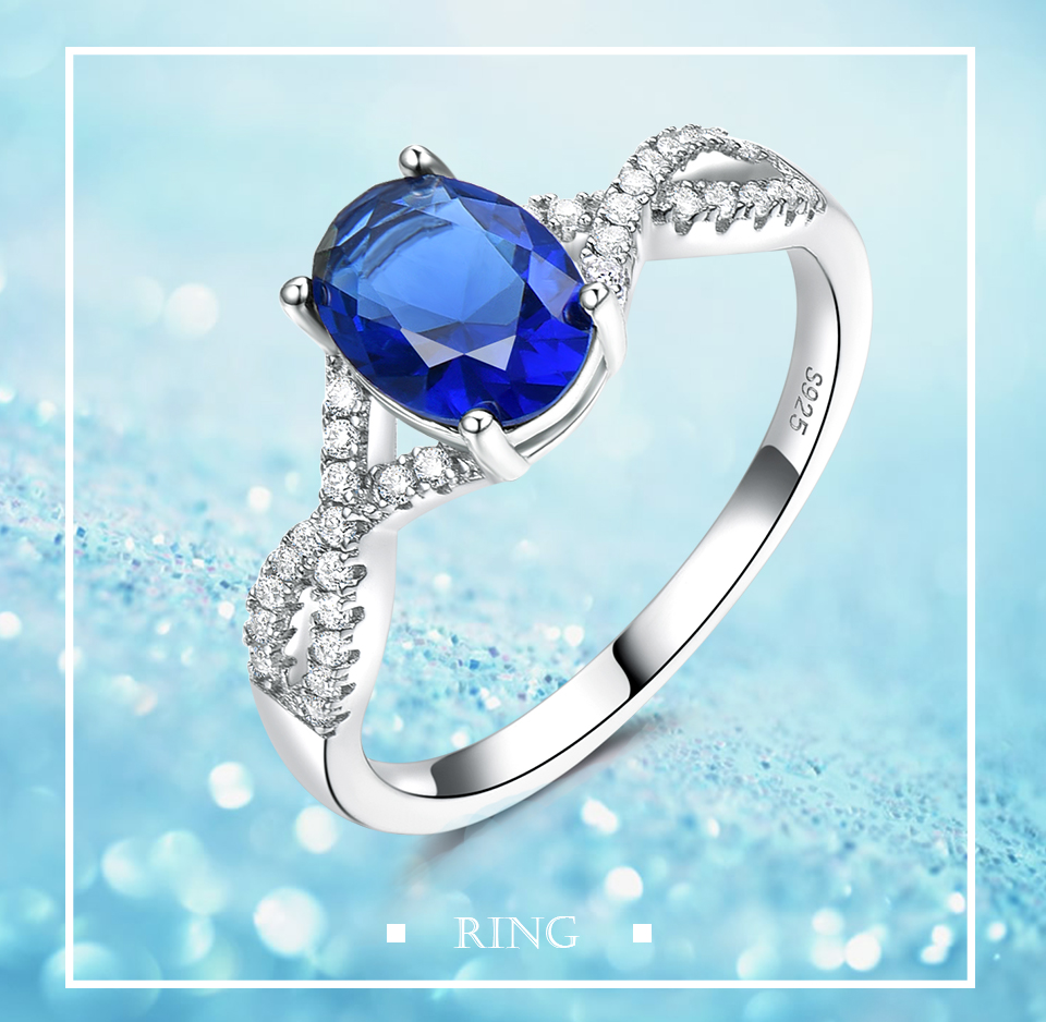 HonyySapphire 925 sterling silver rings for women RUJ099S-1-pc (1)