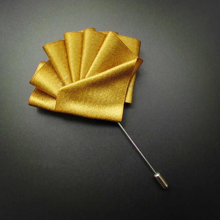 I-Remiel High-end ริบบิ้นยาวเข็มเข็มกลัดโบว์ Tie สำหรับชายเสื้อ Pins & Brooches ผู้ชาย broche กระเป๋าผ้าเช็ดตัว Collar อุปกรณ์เสริม