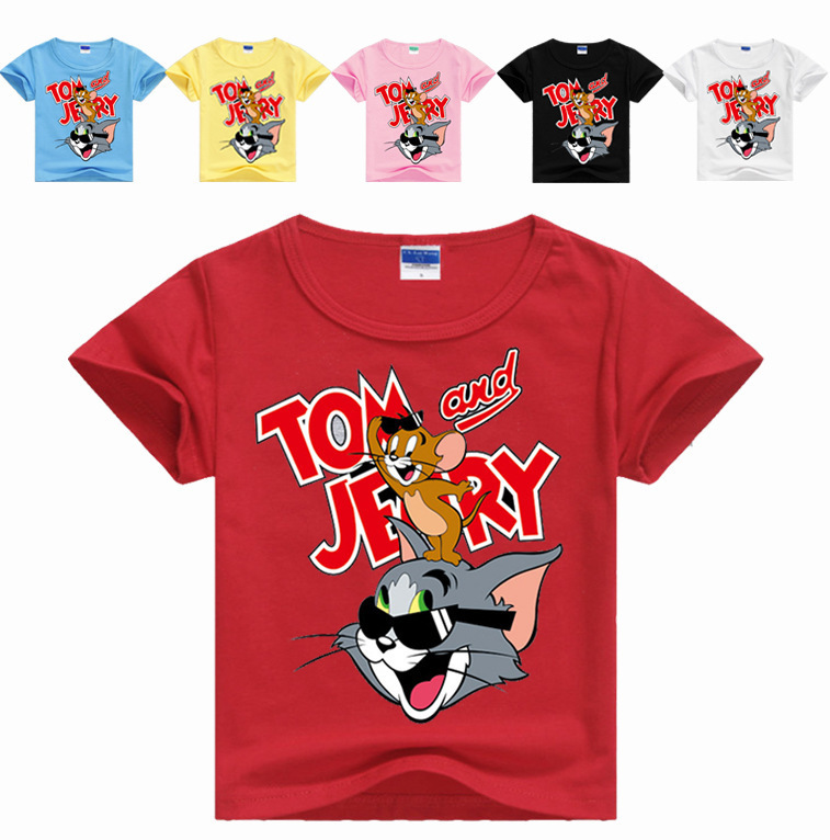 New Summer Cartoon Tom and Jerry Children Boys Short