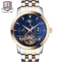 2017 BINKADA Men Watches Men Luxury Brand Mechanical Watch Business Men Wristwatch Sapphire Stainless Steel Analog Clasp