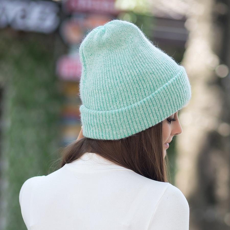 2017 New Autumn Winter Beanies Hats For Women Knitting Warm Wool Skullies Caps Ladise Hat Pompom Gorros (18)