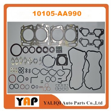EJ20 EJ205 Overhaul Gasket Kit Engine FOR FITSUBARU Impreza forester WRX EJ205 EJ20 2.0L L4 10105-AA990 10105AA990 1994-2009 turbo rotor assembly shaft wheel td04l 49377 04100 14412 aa260 a231 49377 04300 for subaru forester impreza 58t ej20 ej205 2 0l