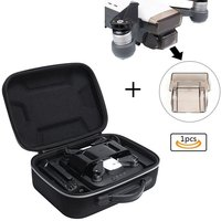 Protective Carrying Case Bag Cover For DJI Spark Portable Charging Station Extra Room Fits Remote Control And Battery Charger