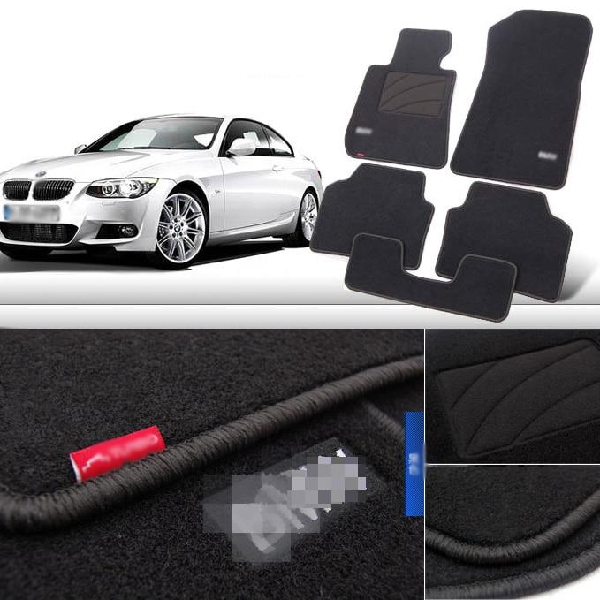 5pcs Premium Auto Fabric Nylon Anti slip Floor Mats Carpet For BMW 3 Series