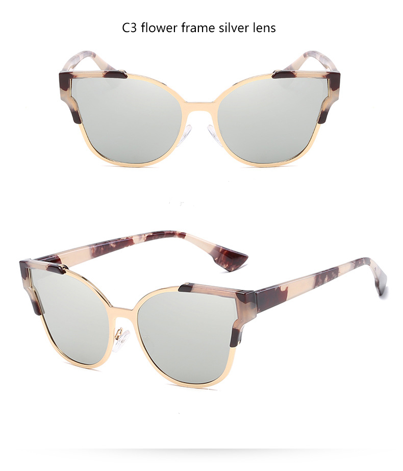 HTB1x2PkQVXXXXakXpXXq6xXFXXXf - Women Cat Eye Luxury Fashion Designer Mirror Sunglasses