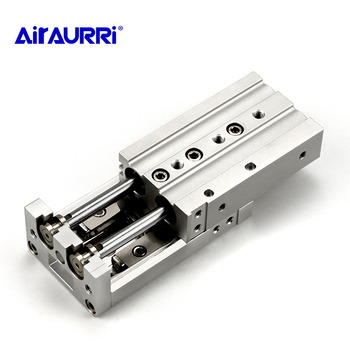 MXS smc type Double acting air slide table cylinder bore 6mm 8mm 12mm 16mm 20mm 25mm stroke 10/20/30/40/50/75/100/125/150
