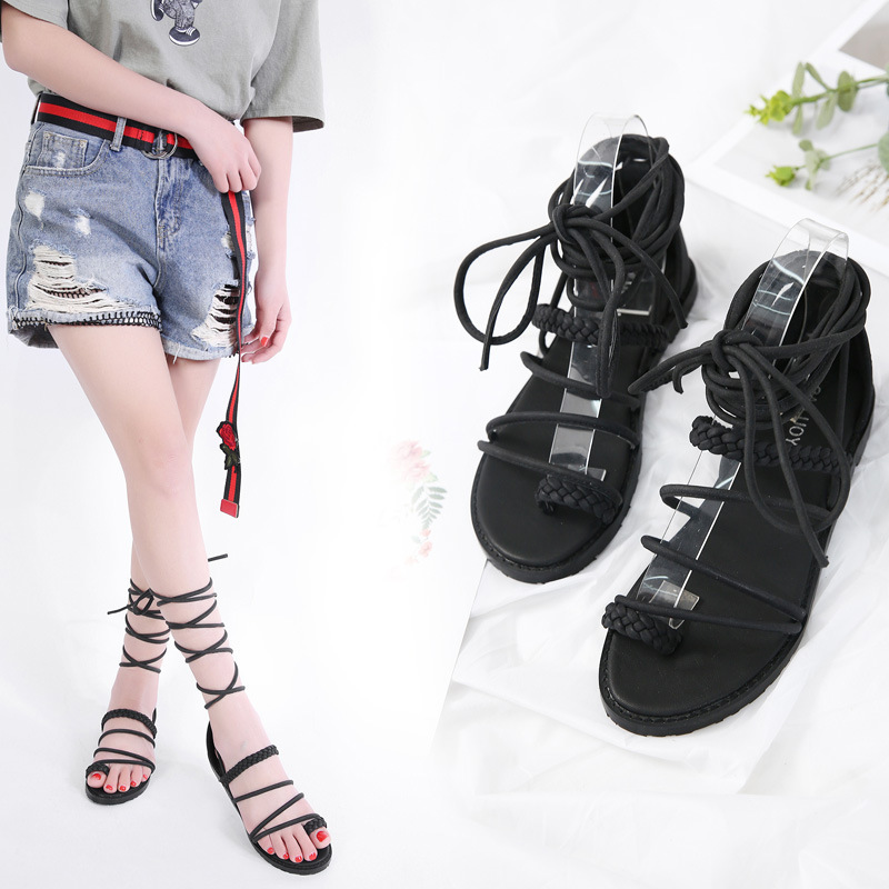 Flat Low female Rome Boots Women Summer Sandals Quality High Heels Sandal Sexy nice Pumps Party Shoes