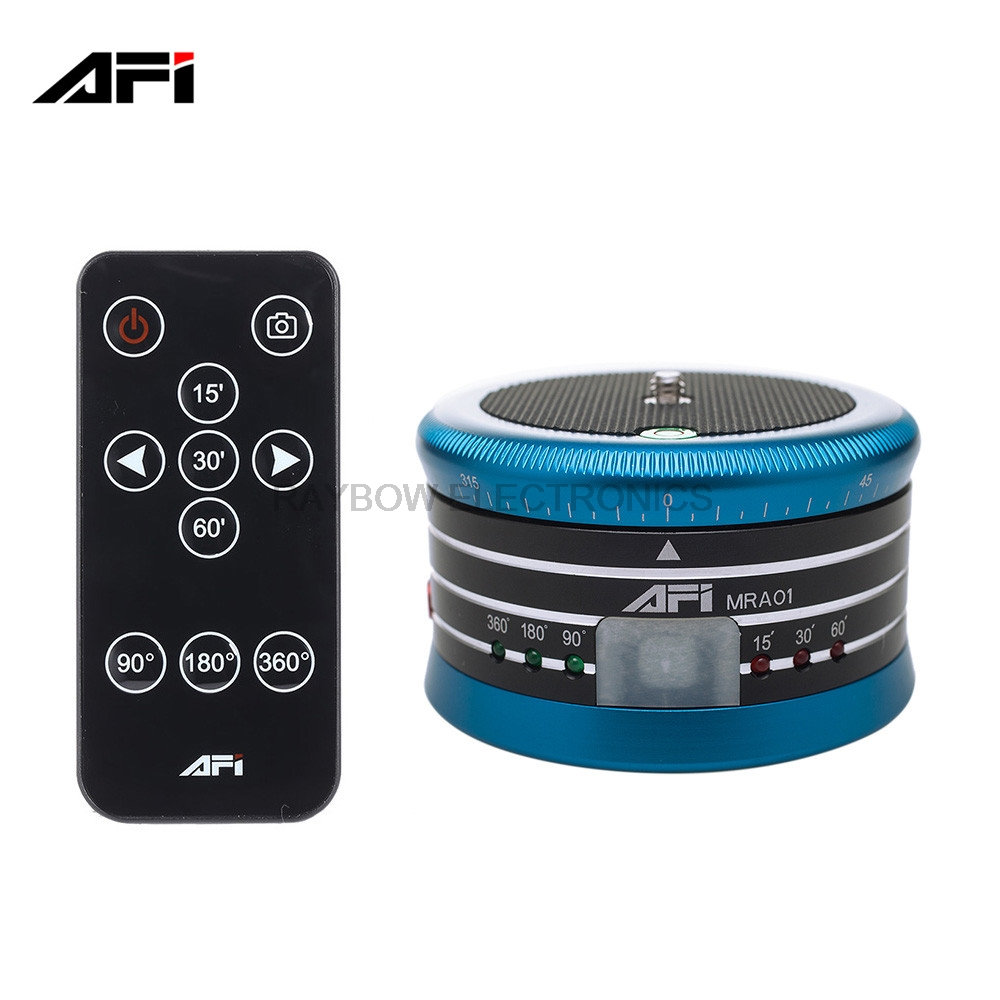 AFI MRA01 Panorama Head Metal Electric video ball head for camera tripod 360 for GoPro Action