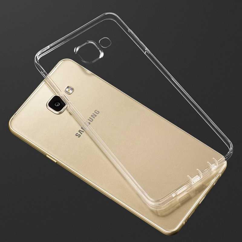 Şeffaf TPU yumuşak samsung kılıfı Galaxy J1 Mini J2 başbakan J3 J5 J7 2017 J7 Neo Metal A5 2016 S3 S4 s5 S6 S7 kenar S8 artı