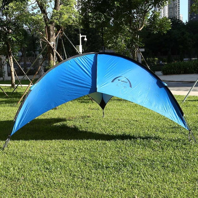 Foldable Portable Beach Canopy Tent Sun Shade UV Protective Waterproof  Patio Cabana Outdoor Camping Picnic