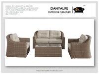dysf-d4413 danyalife высокое качество вилла дворе чп ротанга 4 хместный диваны патио
