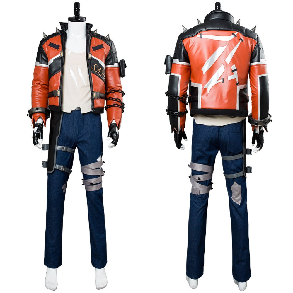 OW Cosplay Soldier 76 Cosplay Costume Jacket Slasher Skin Suit Halloween Carnival Cosplay Costume