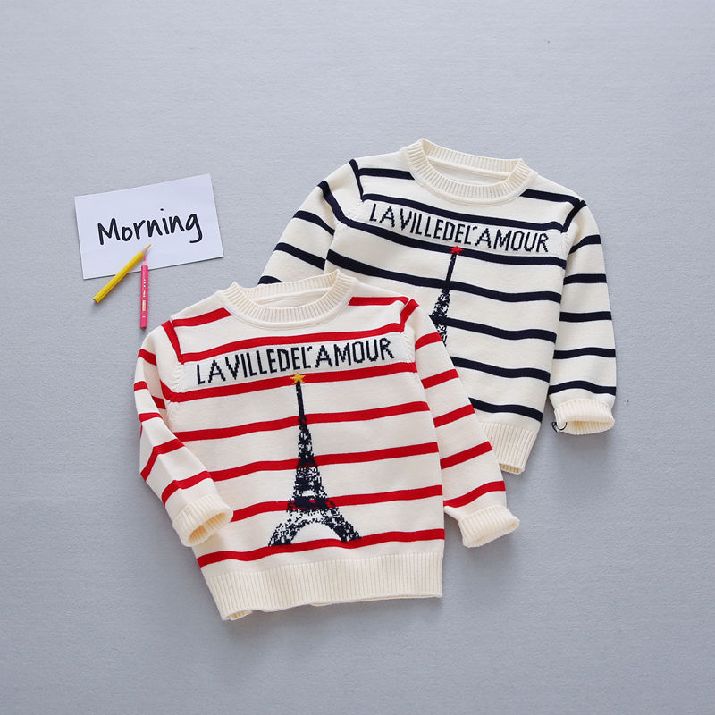 Autumn-Preppy-Chic-Girls-Boys-Kids-Baby-Infants-Long-Sleeve-Letter-Strip-Tower-Outwear-Pullover-Knitwear-Sweater-Camisola-MT1276-1
