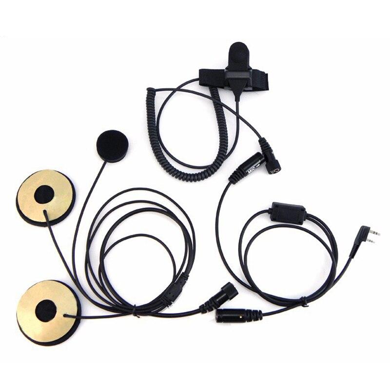 Подробнее о Motorcycle Full Face Helmet Headset Earpiece for Two Way Radio Baofeng Walkie Talkie UV-5R UV-5RA Plus BF-888S GT-3 GT-3TP Mark 10pcs bestface 2 pin earpiece earphone with microphone for baofeng uv 5r bf 888s gt 3 walkie talkie radio