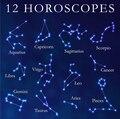 ( 12 pçs/lote ) colar de pingente Constellation signo colar signos do zodíaco doze constelações horóscopo para mulheres presente da menina