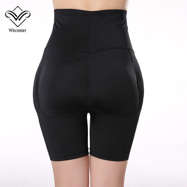 Wechery Control Pants Butt Lifter Hip Up Padded Control Panties Lifting Women Body shaper Butt Enchancer Slimming Shaperwear 4