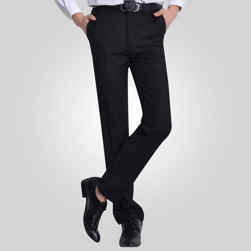 Size 29 40 Wrinkle Free Wedding Groom Black Formal Pants Office ...