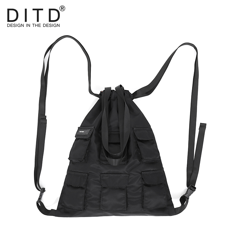 Drawstring Bags plecak worek sznurek gift pouch Single Double Shoulder bag Women Men Travel Storage Package Functional bacckpack