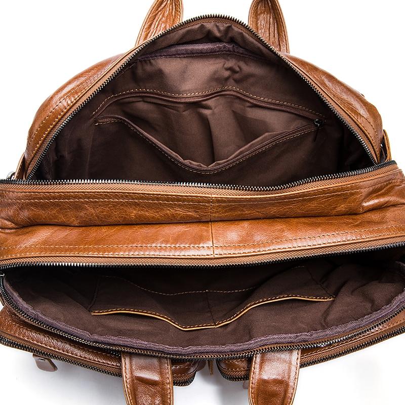 laptop maleta home Material Principal : Couro Genuíno