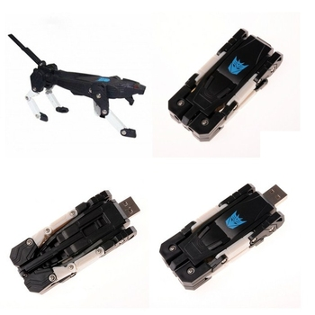 Pen Drive 32GB 64GB Memoria Usb 3.0 Creative Flash Drive Robot Dog Memory Stick Gift Real Capacity Cartoon Pendrive 2TB 1TB