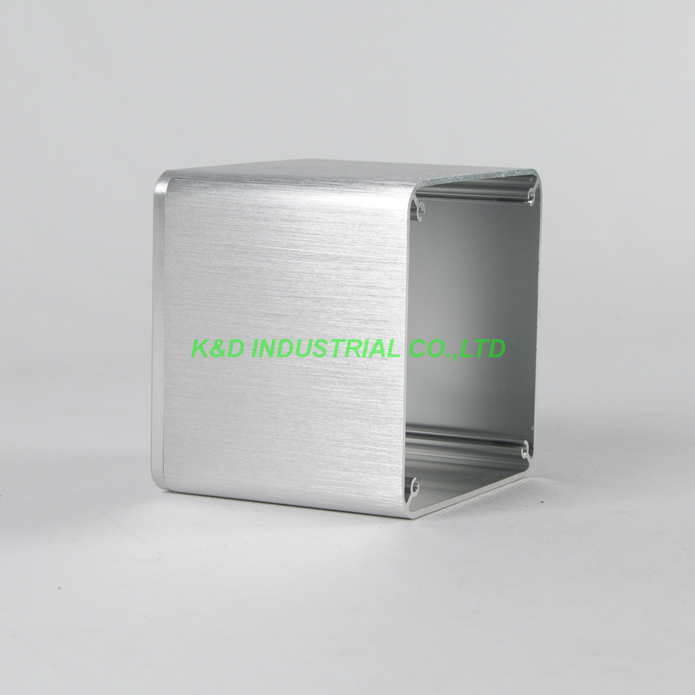 1 pc Sliver Alumínio Caixa Caso capa proteja capa Fr Transformador Amp 110x110x96mm