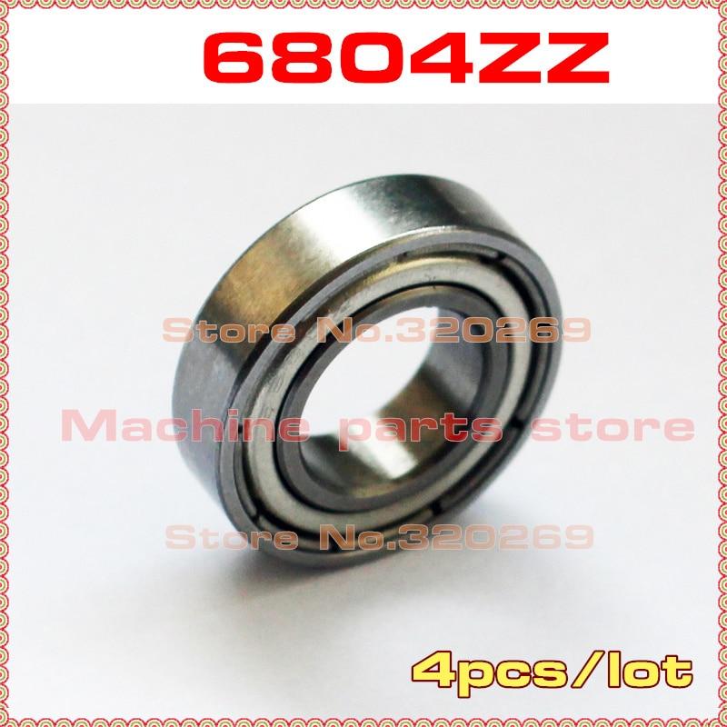 5 PCS 20x32x7 mm 6804ZZ Metal Shielded Ball Bearing 20*32*7 Bearings