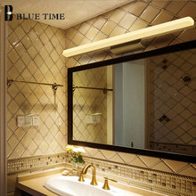 Bathroom Mirror Front Light Modern led Wall Light Wandlamp AC110V 220V Sconce LED Wall Lamp For Bathroom Lamp 40 60 80 100 120CM недорого