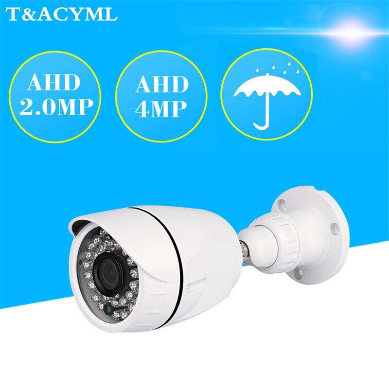 Roboter Sicherheit Cctv 1080 P Ahd Kamera Im Freien Wasserdichte Kugel Kameras Tag & Nacht Analog High Definition Überwachung Hd 3,6mm Objektiv