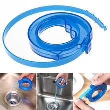 Extensible Pipe Cleaner Cepillos de Limpieza del Hogar Herramientas de Accesorios de Pelo Y Suciedad Limpiador De Tuberías de Cocina Baño Aseo