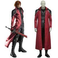 Final Fantasy VII Genesis Rhapsodos Deluxe Cosplay Uniform Pak Volledige Set mannen Halloween Kostuums Maatwerk Gratis Verzending