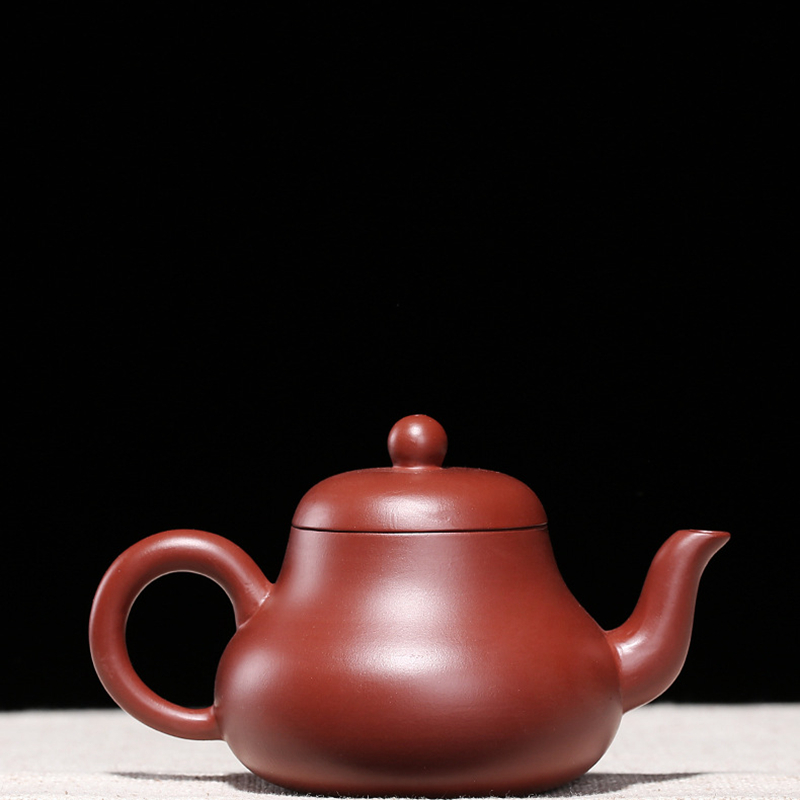 180ml country artist Handmade Purple Clay teapot yixing zisha hu Teapot Chinese kungfu china Tea Set Tea cup Drinkware image