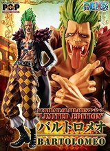 One Piece Bartolomeo Action Figure 1/7 scale painted figure Barrier Fruit Bartolomeo Crossed Fingers Doll PVC ACGN figure Anime
