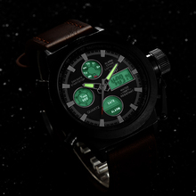 Luxury Men Swimming Quartz Analog Outdoor Sports Watches Military Relogio Masculino Male Clock Hour With Leather Strap