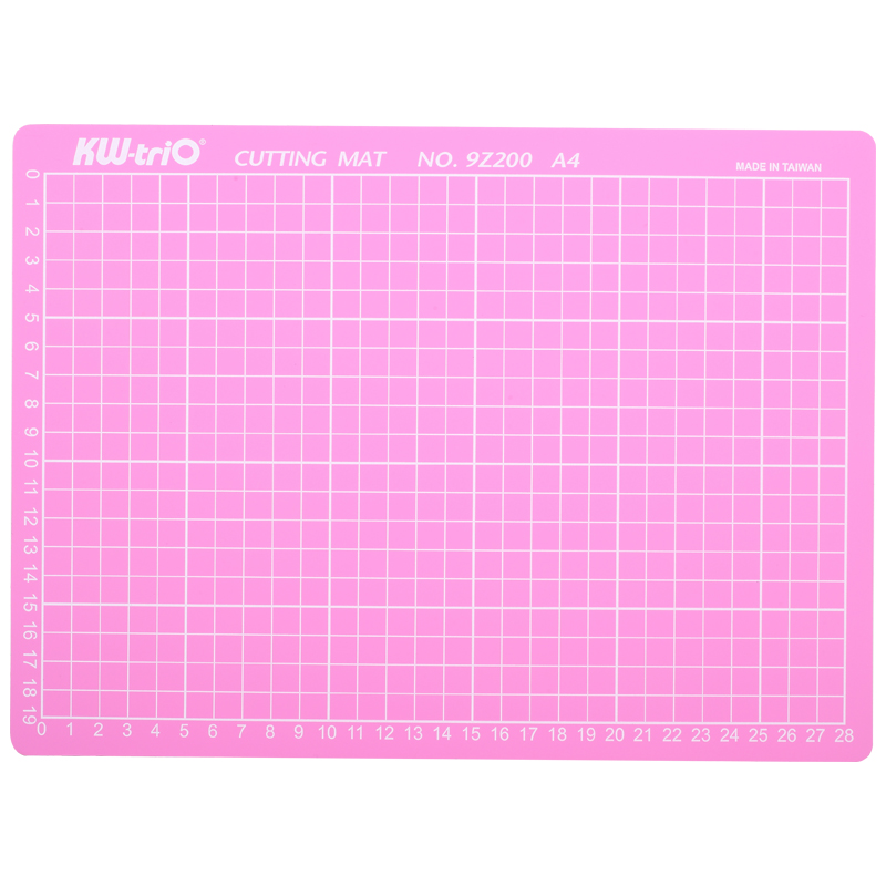 PVC A4 Pink Cutting Mat Cutting Pad Patchwork Cut Pad A4 Double-Sided Self-Healing Patchwork Craft Cutting Board DIY Tools