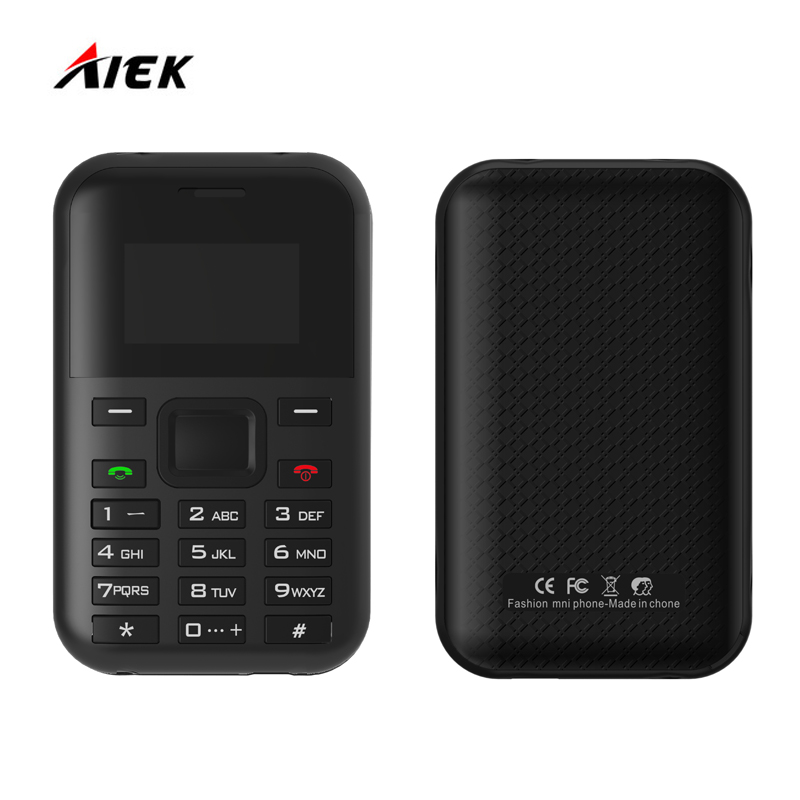 Original AIEK AEKU C8 MP3 Player Multi Language PK AIEK E1 M5 C6 500mAh Battery Long