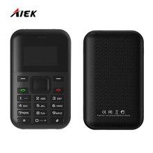 Оригинал AIEK/aeku C8 MP3 плеер multi Язык PK AIEK E1 M5 C6 500 мАч Батарея Длинные резервной карты телефон одним из ключевых быстро набрать