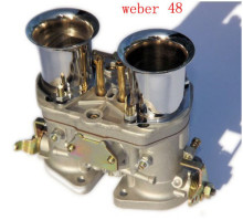 Carb weber  48 IDF Carburetor with Chrome air horns with FAJS brand