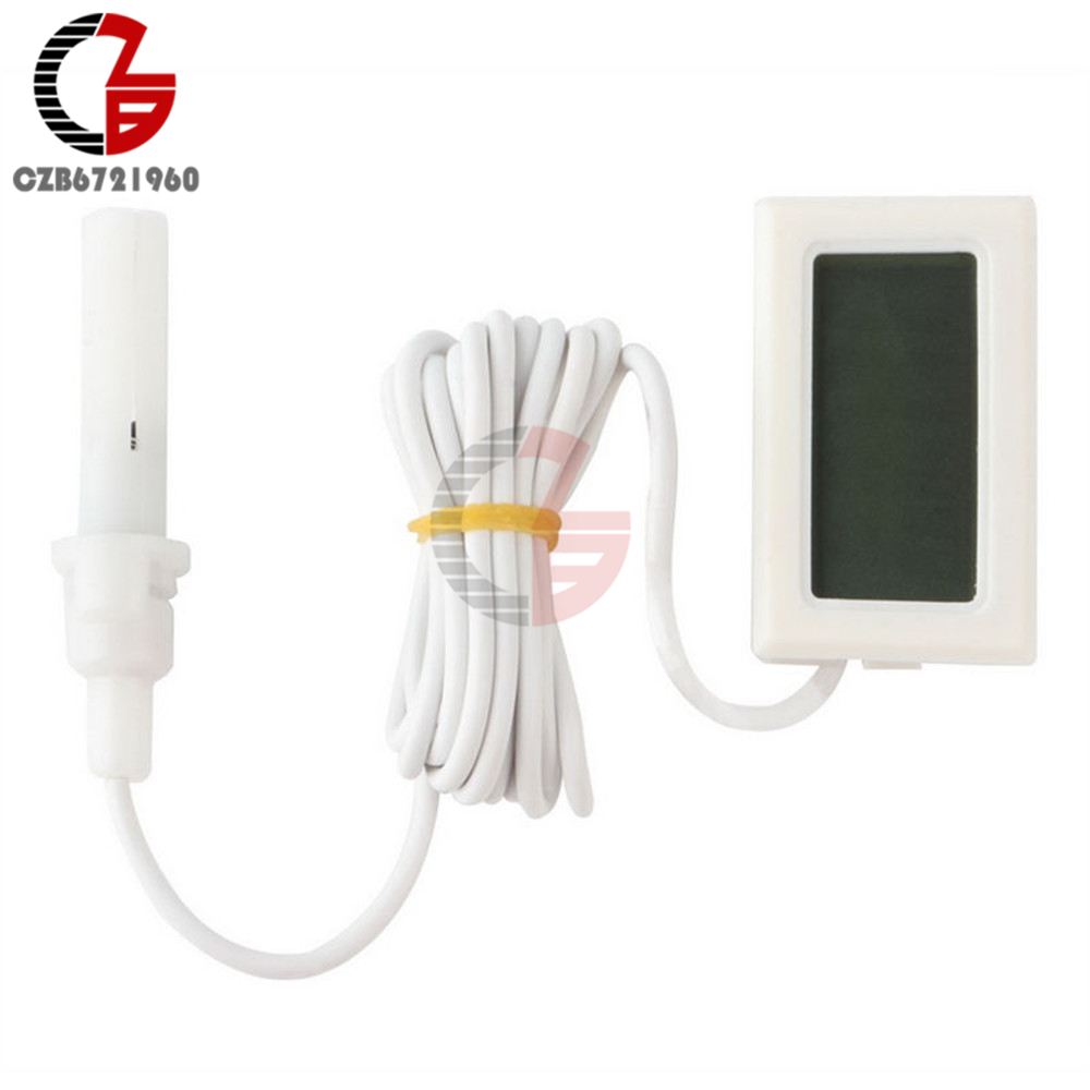 Accurate Indoor Room LCD Digital Thermometer Hygrometer Thermo-Hygrometer Temperature Humidity Meter Moisture Measurment Monitor