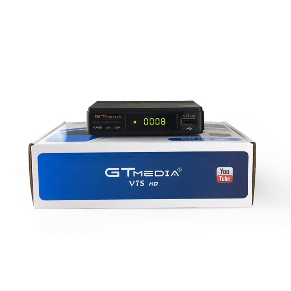 GTMEDIA V7S Free sat V7s WIFI av cable DVB-S2 HD Youtube PowerVU CCaam Newcamd GTMEDIA V7S free sat v7s Satellite TV Receiver