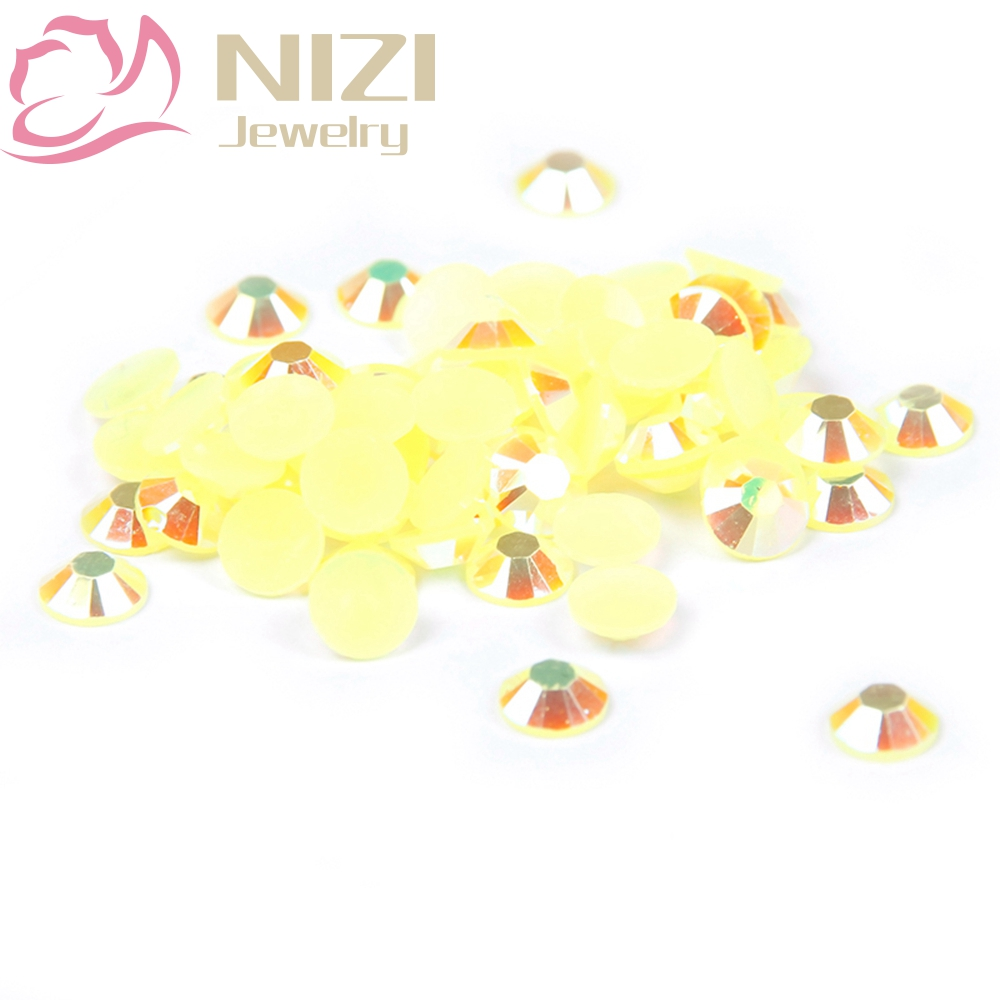Shiny 2-6mm Citrine AB Color Resin Strass Nail Art Rhinestones Non Hotfix Crystals Nail Beads 3D Nail Jewelry Decorations Design gitter 2 6mm citrine ab color resin rhinestones 14 facets round flatback non hotfix beads for 3d nail art decorations diy design