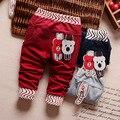 2016 nuevos Niños Pantalones de Bebé de Algodón de Alta Calidad de Niños y Niñas Ropa de Niños de La Manera Pantalones Niños Pantalones Ropa de Otoño