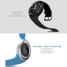 New Fashion Y1 Smart Watch Support SIM Card and TF Card with Whatsapp, Facebook and Twitter APP