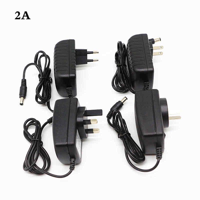 AC 100-240V to DC 12V 1A 2A 3A 4A 5A 6A 7A 8A 10A 12.5A Power Supply 12V LED Strip Light Transformer With EU/US/UK/AU Plug Cord