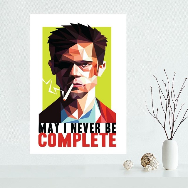 Art Poster 24x36 27x40 Fight-Club/_poster/_goldposter/_com T-1465