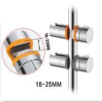 BAKALA новый держатель для душевой лейки 18-25 мм ABS замена рельса головной ползунок зажим регулируемый держатель для душа хромированные инструм...