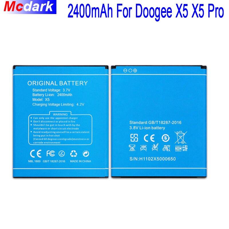 2400 mah Batterie Für Doogee X5 X5S X5 Pro Bateria Batterie-akkumulator akku Hohe Qualität